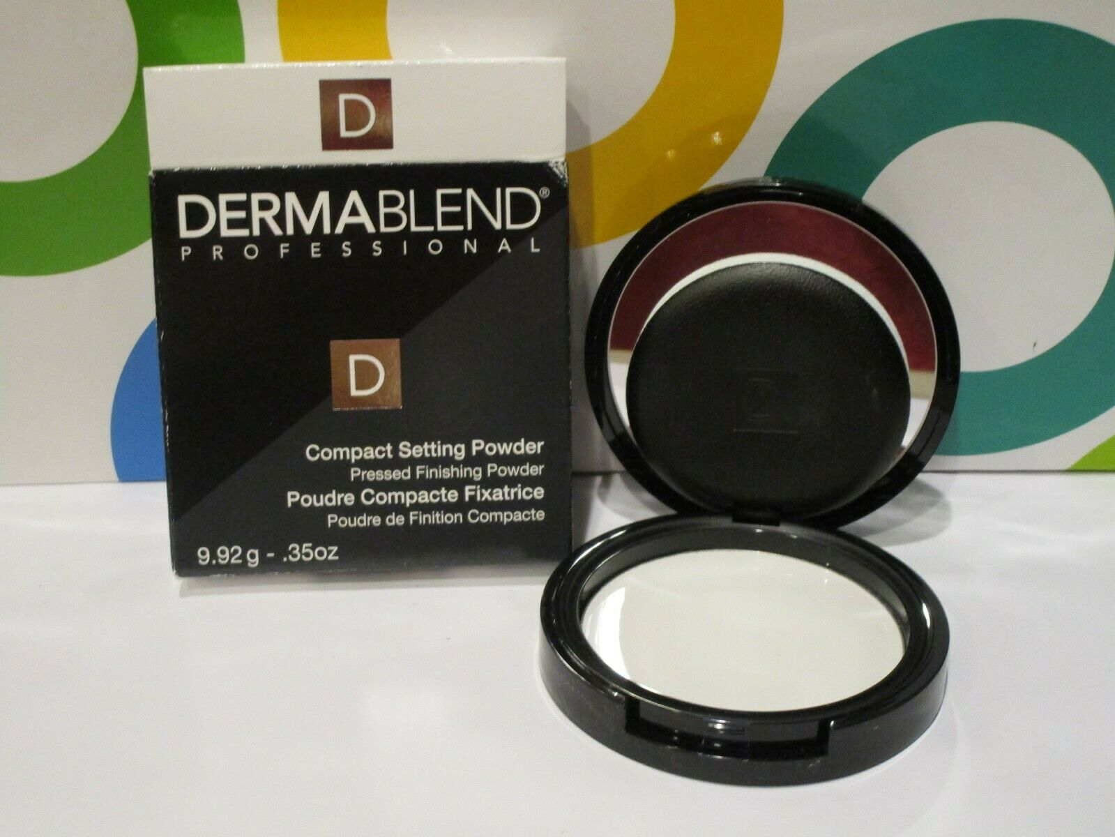 Dermablend Professional Compact Setting Powder / Pressed Powder .35 Oz Boxed
