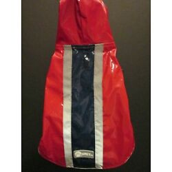 Doggie Red Slicker Raincoats by AKC, Size Small or Large, NWT