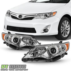 Kyпить For 2012-2014 Toyota Camry Projector Headlights Headlamps Replacement Left+Right на еВаy.соm