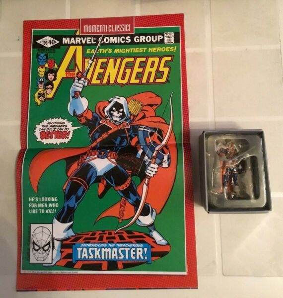 MARVEL HEROES 3D Uscita n° 86 Taskmaster Collezione ufficiale ACTION FIGURE