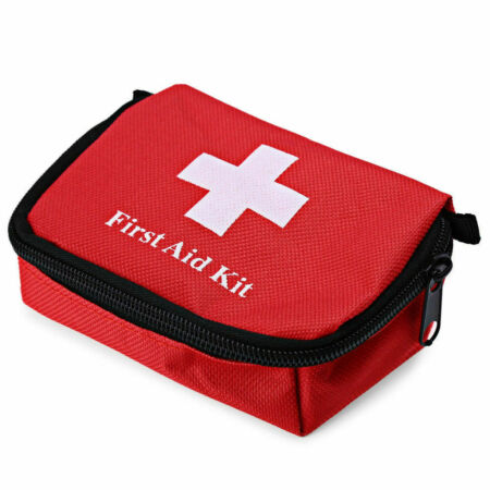 img-1PC Outdoor Hiking Camping Survival Travel Emergency First Aid Kit Rescue Bag