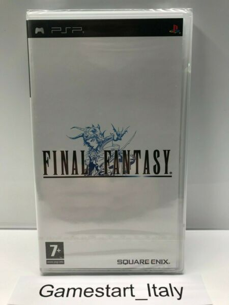 FINAL FANTASY - SONY PSP - NUOVO SIGILLATO PAL VERSION PRIMA STAMPA - NEW SEALED