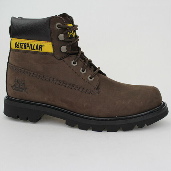 Caterpillar Stivali Colorado Stivale Marrone Scuro Braun pelle WC44100950 Scarpe
