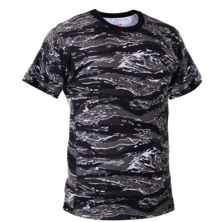 img-urban tiger stripe camo t-shirt military camouflage short sleeve rothco 61070
