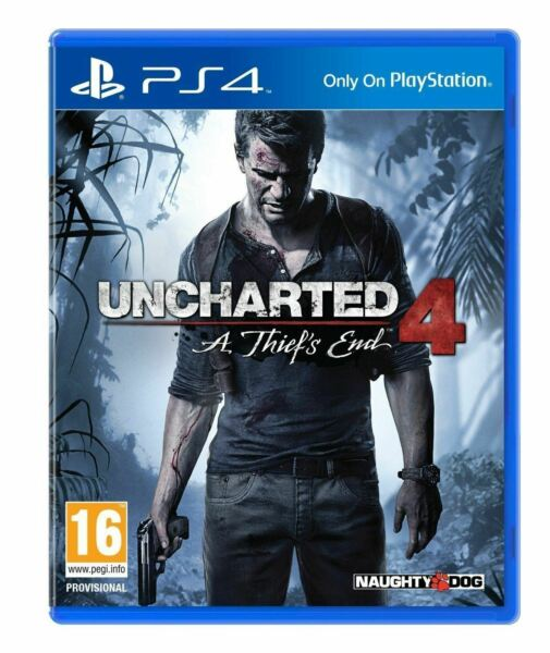 Uncharted 4: A.Thiefs End PS4 Nuovo,Sigillato