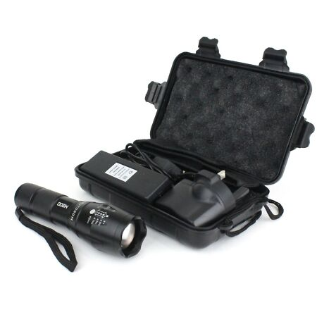 img-Tactique Lampe Torche LED Trutorch Zoomable 5 Modes - Brillante Camping 800