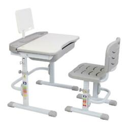 Kyпить Desk and Chair Set Height Adjustable Kids Children's Sturdy Table Work Station на еВаy.соm