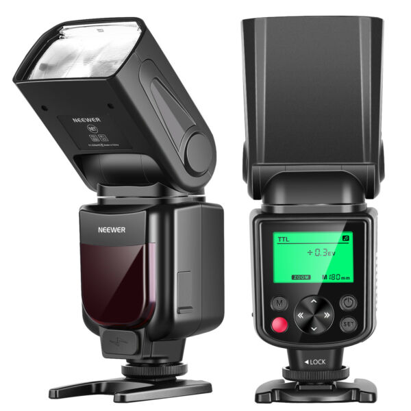 Neewer NW635 TTL Flash Speedlite Automatic Flash GN58 with LCD Display