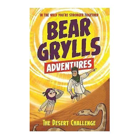 img-A Bear Grylls Adventure 2: The Desert Challenge by Grylls, Bear, NEW Book, FREE