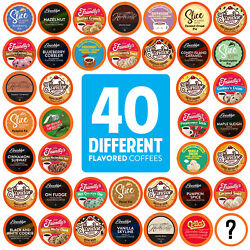 Kyпить Two Rivers Flavored K-Cups, Coffee Pods Variety Pack for Keurig K-Cup 40 Count на еВаy.соm