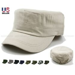 Kyпить Men Women Army Cap Cadet Military Patrol Castro Hat Golf Driving Summer Baseball на еВаy.соm