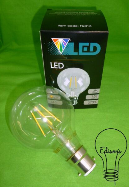 Dimmable LED Filament Globe Lamp BC (B22) Venture FIL018