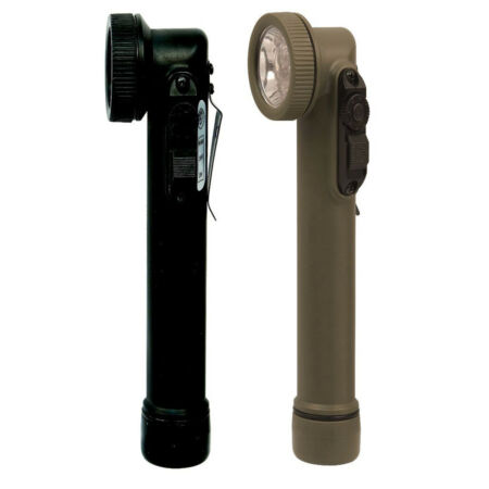 img-Military LED Mini Army Style Tactical Water Resistant Flashlight Rothco 527 528