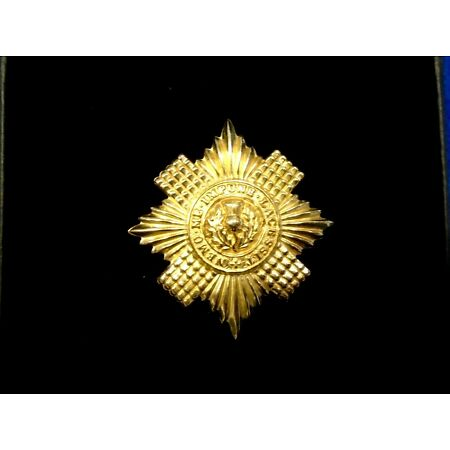 img-NEW SCOTS GUARDS GILDING METAL CAP BADGE + GIFT BOX, WW1, WWII & CURRENT ISSUE