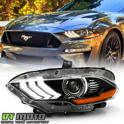 Kyпить For [Factory LED Projector w/ DRL Headlight] 2018-2020 Ford Mustang Driver Side на еВаy.соm
