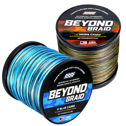 Kyпить Beyond Braid Blue & Moss Camo 300 - 2000 Yard Spools на еВаy.соm
