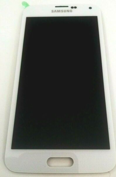 Samsung Galaxy S5 G900a LCD Display Touch Screen Digitizer white bianco Assembly