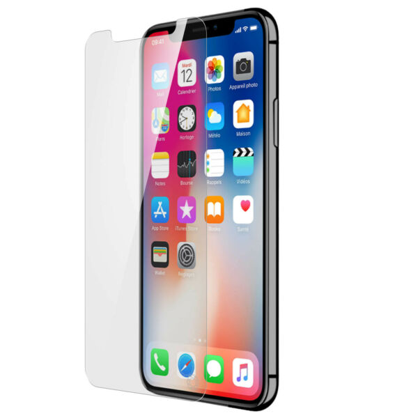 FranceiPhone X / XS Film ForceGlass Tempered Glass Protection Life