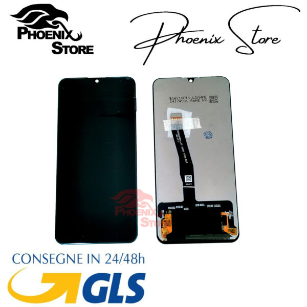 LCD DISPLAY TOUCH SCHERMO PER HUAWEI P SMART 2019 POT-LX1 POT-LX2 SCREEN NERO