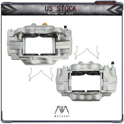 MAYASAF Front Pair:2 Disc Brake Calipers SET fit Toyota Sequoia Tundra 4Runner