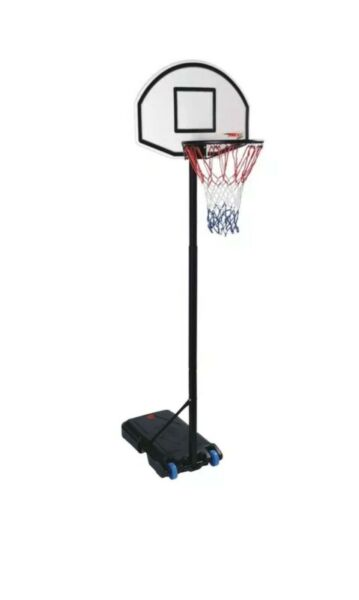 Adjustable Basketball Hoop Backboard Net Stand Set&Adjustable Height Free P&P UK