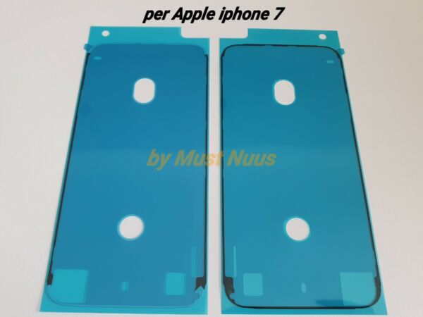 GUARNIZIONE ANTI INFILTRAZIONE BIADESIVO FISSAGGIO LCD DISPLAY APPLE IPHONE 7