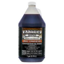 Barrier Bond - Rust Off - Rust-Converter Coating - 1 Gallon Container