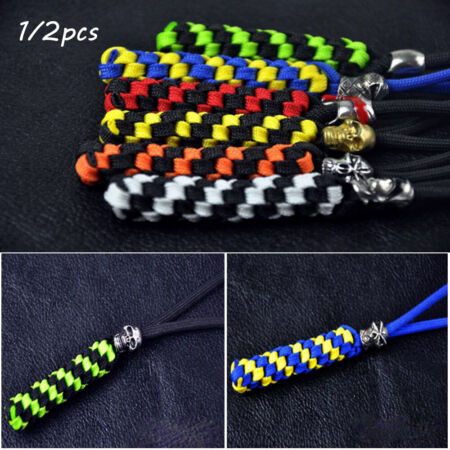 img-Paracord Rope Knife Pendant Nylon Chain Tool Survival Ropes Camping Corn Knot