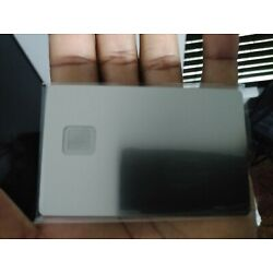 Kyпить New Blank Metal Credit/Debit Card with 4428 Size Chip-Hole and Hico Magstripe ! на еВаy.соm