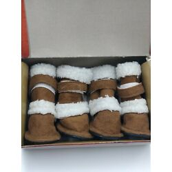 PUGZ Shoes for Dogs Size 2 Small By Hugs Pet Products  (3B1)