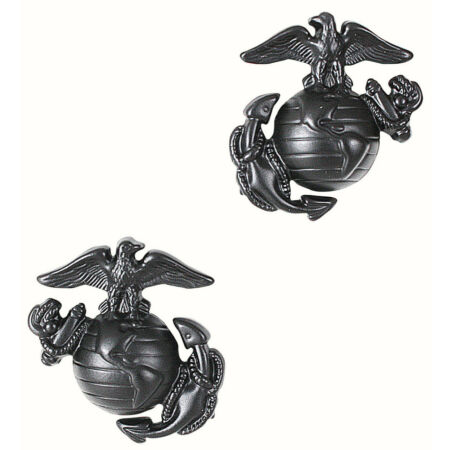 img-usmc insignia marine corps pins for uniform use subdued eagle globe anchor 1568