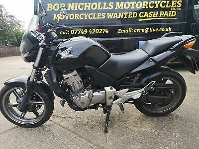 HONDA CBF 500 A6 MOTORCYCLE-2007 ABS MODEL IN BLACK-MOTed