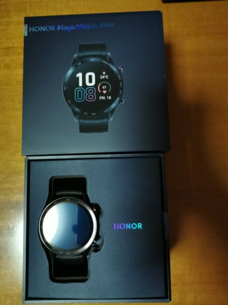 HUAWEI HONOR Smartwatch Magic Watch 2 46mm Smart Orologio Fitness Tracker Nero
