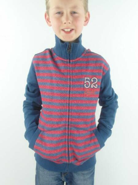AllemagneO'Neill Veste Sweat Antry Blau Rouge Col Montant