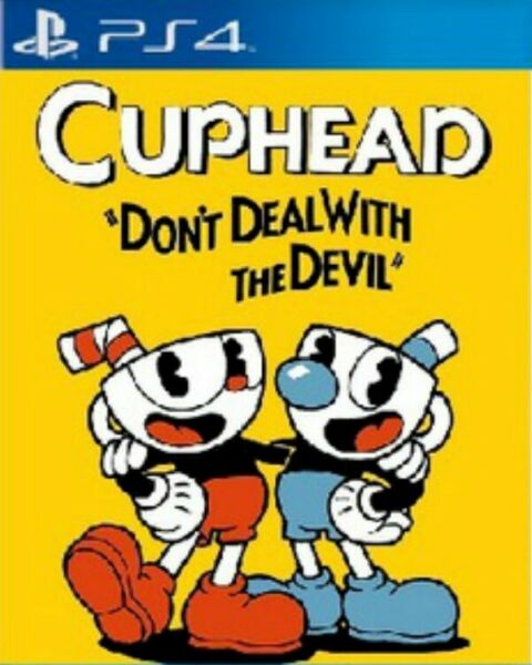 Cuphead - PlayStation 4 - Cup Head - PS4 📥