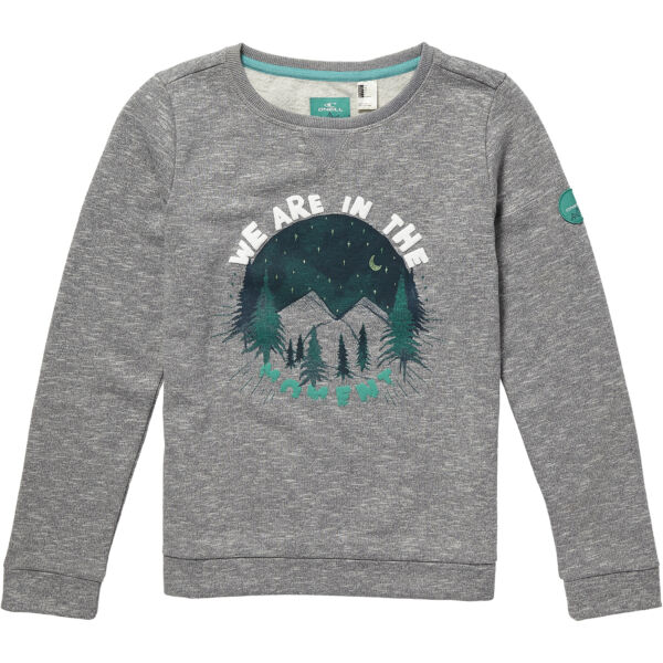 Allemagne Pull LG IN The Moment Sweat Gris Unicolore