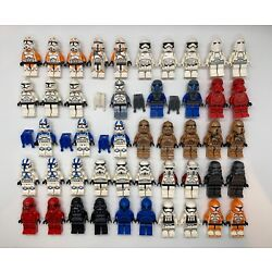 Kyпить LEGO Star Wars Minifigures Lot - Clone Troopers Stormtroopers Imperial -YOU PICK на еВаy.соm