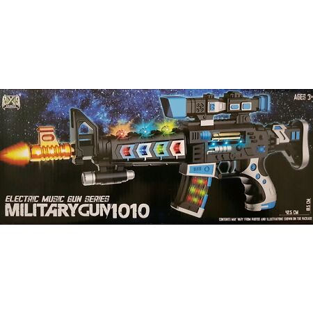 img-New Army Military Gun Assault Guns/Rifle Ak47 Flashing Lights & Sound Kids Toy