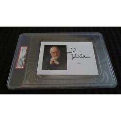 Kyпить John Williams composer signed autographed psa slabbed Star Wars Jaws E.T. на еВаy.соm