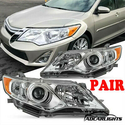 Fits For 2012-2014 Toyota Camry Hybrid Reflector Projector lamps Headlights