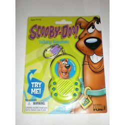 1 NEW SCOOBY-DOO  TALKING KEYCHAIN SAYS 6 PHRASES COMES W/ REPLACEMENT BATTERIES