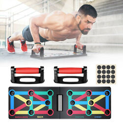 Kyпить 12 In 1 Folding Push Up Rack Board Stand Body Building Fitness Gym Exercise Tool на еВаy.соm
