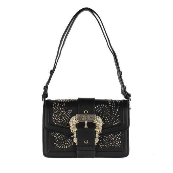 ItalieVERSACE JEANS COUTURE Bag STUDS  Black - E1VZABBA71575899