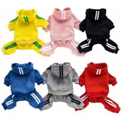 Kyпить 4 Leg Pet Dog Clothes Cat Puppy Coat Winter Hoodies Warm Sweater Jacket Clothing на еВаy.соm