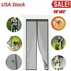 Kyпить Hands-Free Magnetic Screen Door Mesh Net Mosquito Fly Insect Bug Curtain Closer на еВаy.соm