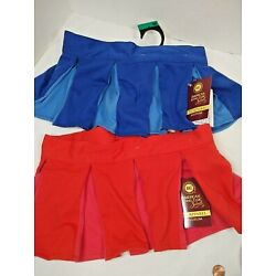 Dog Pleated Skirt  Medium  New American Kennel Club Choice Red or Blue New