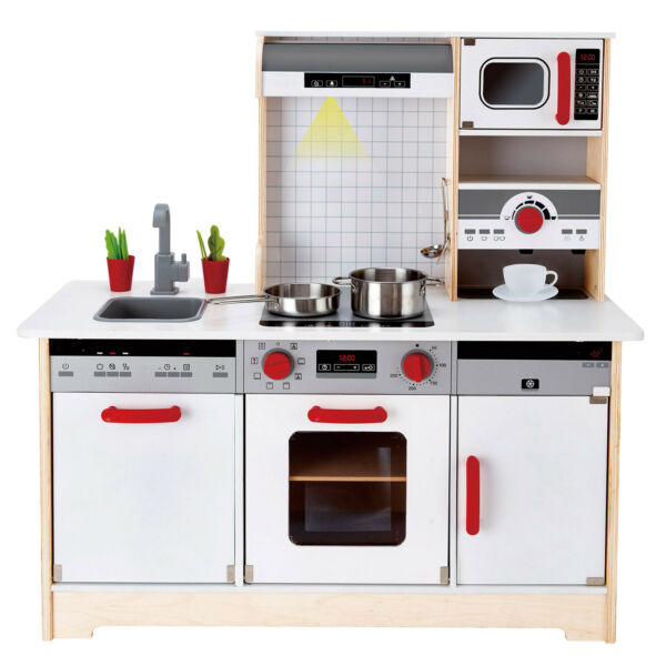 Royaume-UniHAPE E3145 Delicious  Wooden Play Kitchen 15pcs Toddler Children 3yrs+