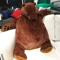 Kyпить 60cm giant simulation DJUNGELSKOG bear toy Brown Teddy Bear Stuffed Animal Toys на еВаy.соm