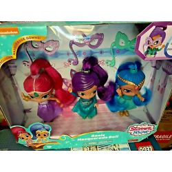 Kyпить Genie Masquerade Ball 6-Inch Basic 3 Doll Set Shimmer Shine & Zeta  NEW NRFB NIB на еВаy.соm