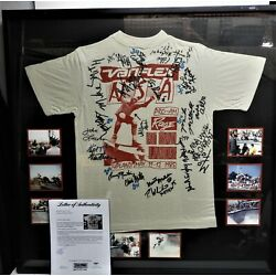Kyпить 1985 Powell Peralta Bones Brigade Rage in the Badlands T Shirt Signed by 21 pro на еВаy.соm
